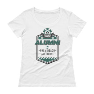 Palm Beach Ale House Alumni – Scoopneck T-shirt