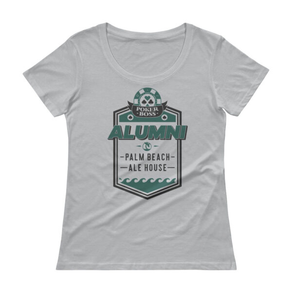 Palm Beach Ale House Alumni – Scoopneck T-shirt
