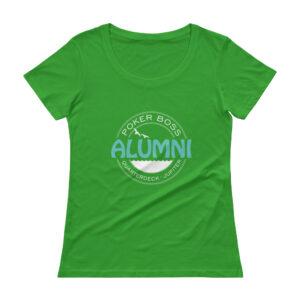 Quarterdeck, Jupiter Alumni – Women's Scoopneck T-shirt