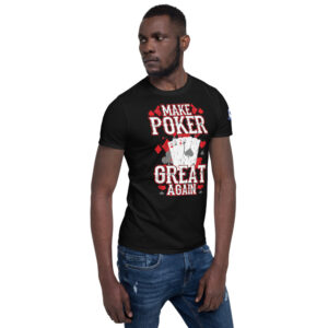 Buffalo Pub Poker – I'd Rather Be Playing Poker –  Men's T-shirt