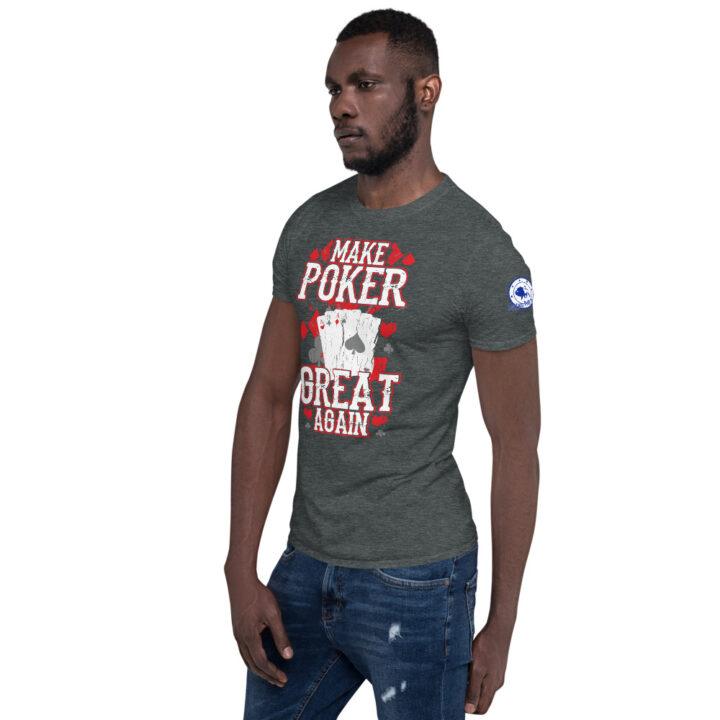 Buffalo Pub Poker – I'd Rather Be Playing Poker –  Men's T-shirt