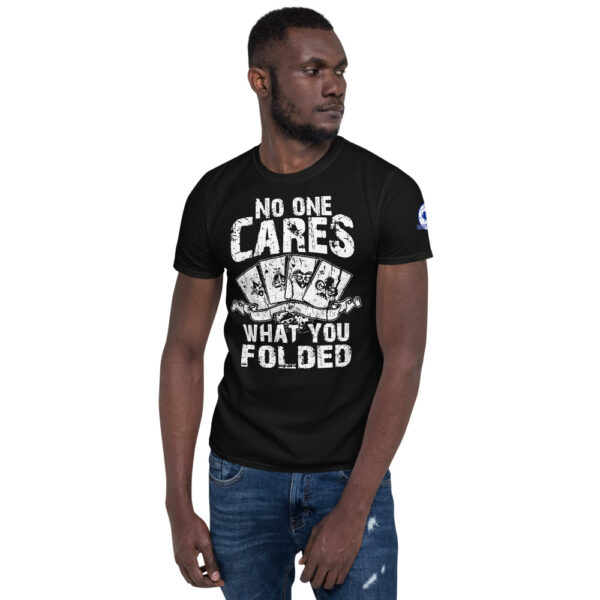Buffalo Pub Poker – I Hate Poker Fake News –  Men's T-shirt