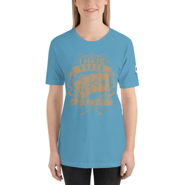 Buffalo Pub Poker – I Hate Poker Fake News –  Women's T-shirt