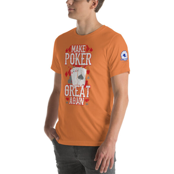 Buffalo Pub Poker – Make Poker Great Again – Men's T-shirt