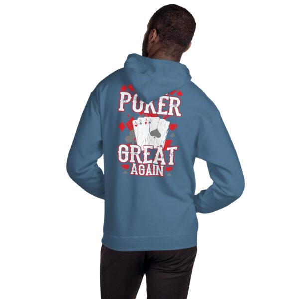 Buffalo Pub Poker – Make Poker Great Again – Unisex Hoodie