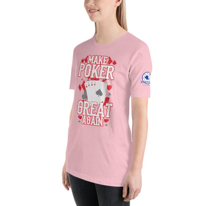 Buffalo Pub Poker – Make Poker Great Again – Women's T-shirt
