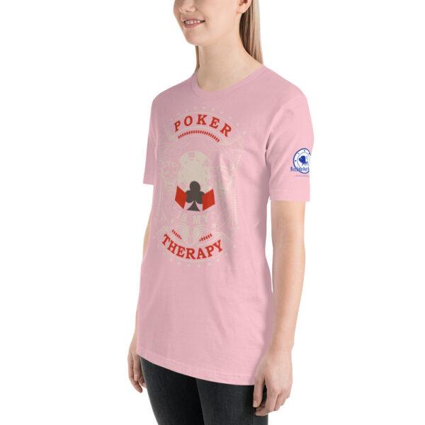 Buffalo Pub Poker – Poker Is My Therapy – Women's T-shirt
