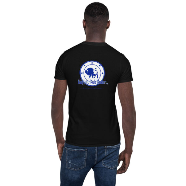 Buffalo Pub Poker – Short-sleeve Unisex T-shirt