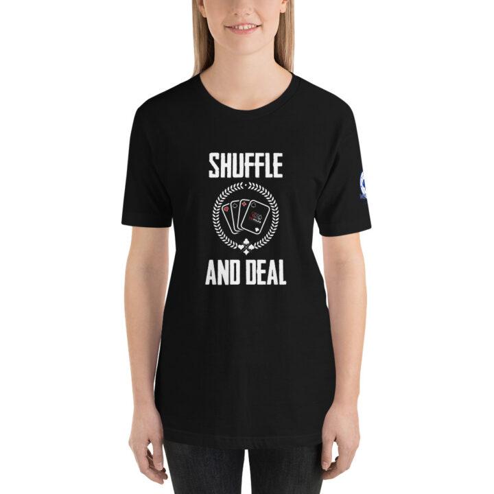 Buffalo Pub Poker – Shuffle And Deal –  Women's T-shirt