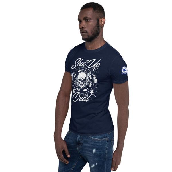 Buffalo Pub Poker – Shut Up And Deal –  Men's T-shirt