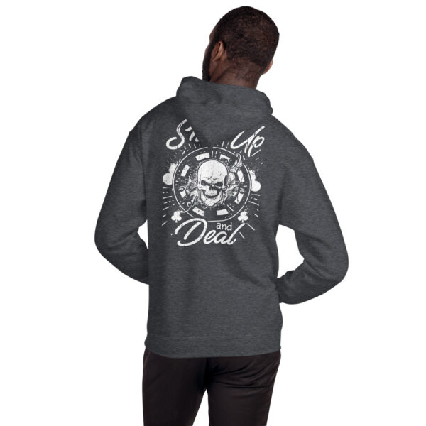 Buffalo Pub Poker – Shut Up And Deal – Unisex Hoodie