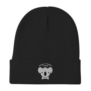 Koala T Poker – Embroidered Beanie
