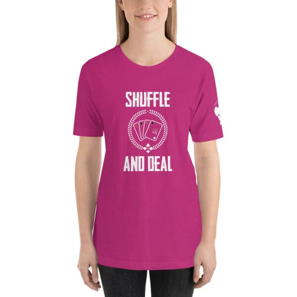 Koala T Poker – Shuffle And Deal –  Women's T-shirt