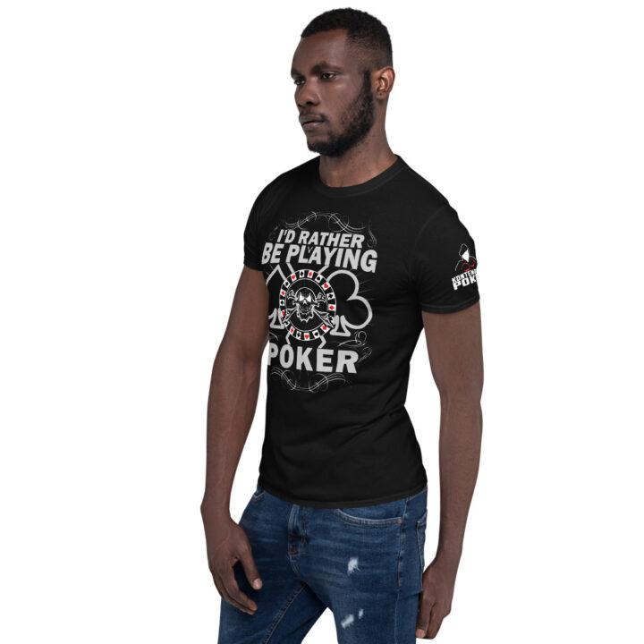 Kontenders – I'd Rather Be Playing Poker – Men's T-shirt