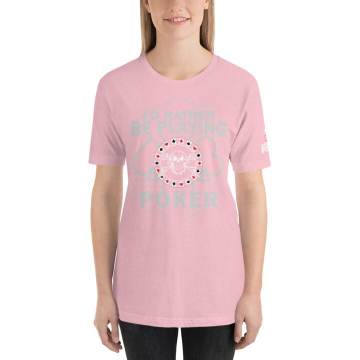 Kontenders – I'd Rather Be Playing Poker – Women's T-shirt