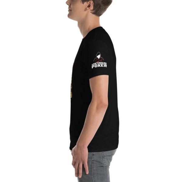 Kontenders – I Hate Poker Fake News –  Men's T-shirt