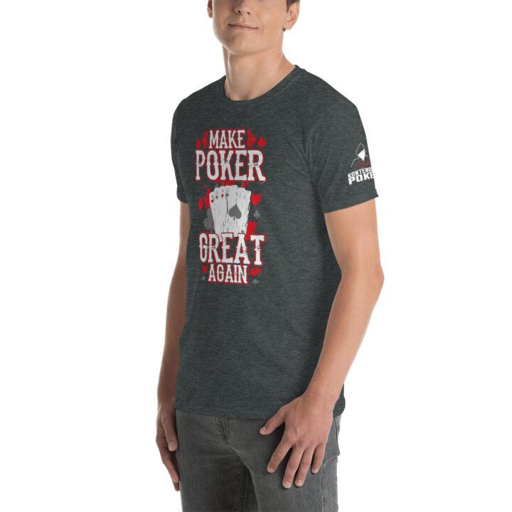 Kontenders – Make Poker Great Again – Men's T-shirt