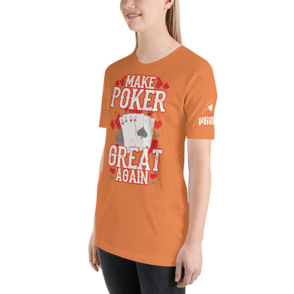 Kontenders – Make Poker Great Again – Women's T-shirt