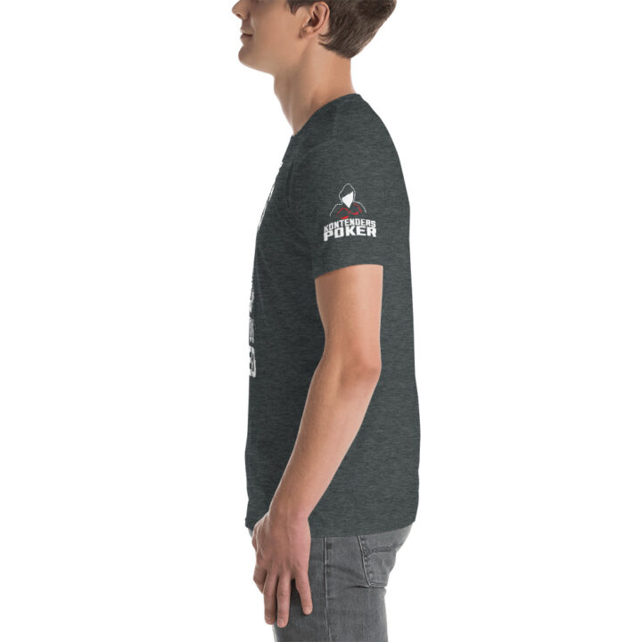 Kontenders – No One Cares What You Folded –  Men's T-shirt