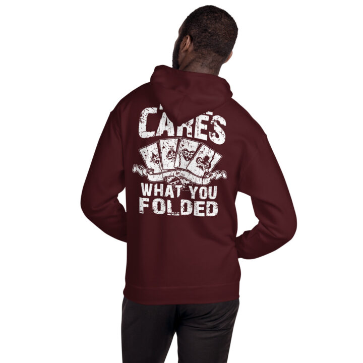 Kontenders – No One Cares What You Folded –  Unisex Hoodie