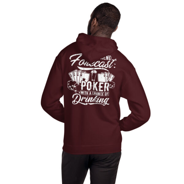 Kontenders – Weekend Forecast Poker With A Chance Of Drinking – Unisex Hoodie