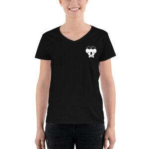 Koala T Poker – Women's Casual V-neck Shirt