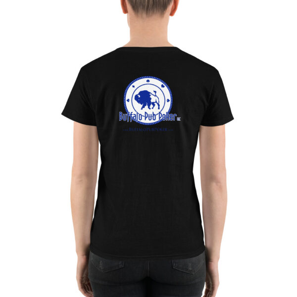 Buffalo Pub Poker – Women's Casual V-neck Shirt