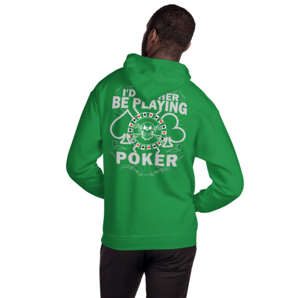 Private: Koala T. Poker – I'd Rather Be Playing Poker – Unisex Hoodie