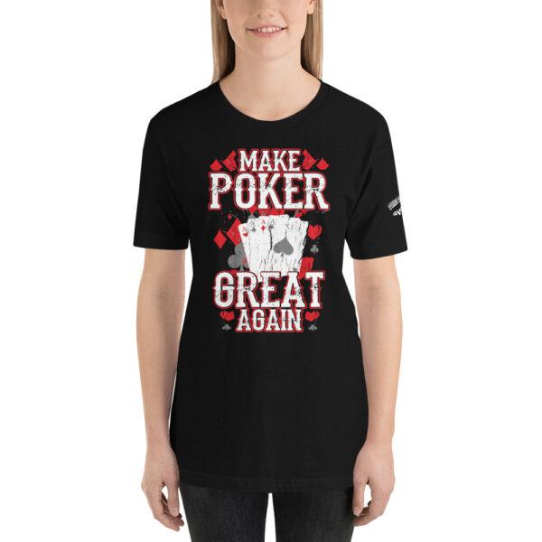 Private: Pikes Peak Poker – Make Poker Great Again – Women's T-shirt
