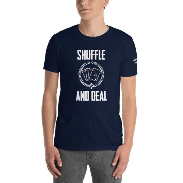 Private: Pikes Peak Poker – Shuffle & Deal – Men's T-shirt