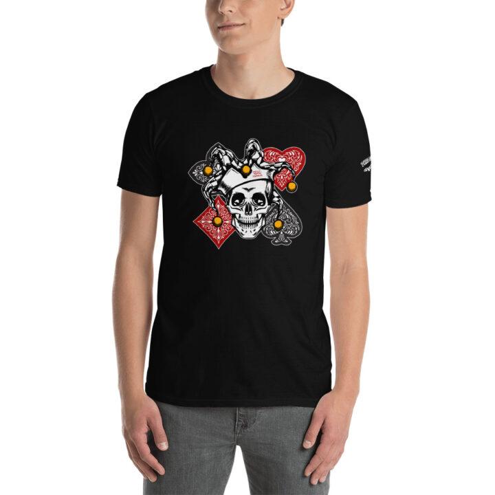 Private: Pikes Peak Poker – Poker Joker –  Men's T-shirt