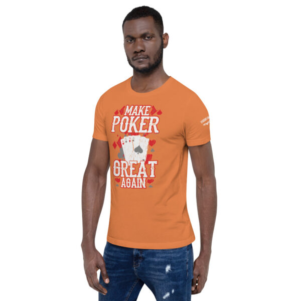 Private: Pikes Peak Poke – Make Poker Great Again – Men's T-shirt