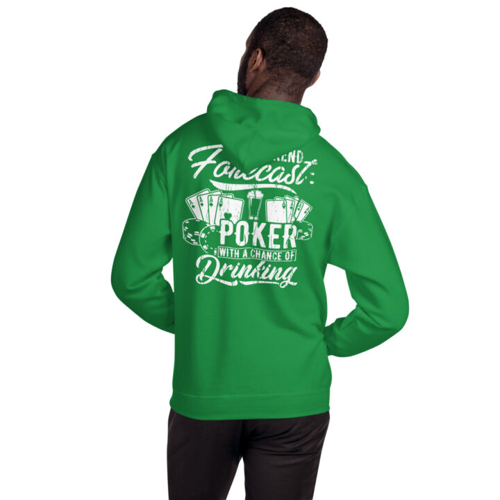 Private: Pikes Peak Poker – Weekend Forecast Poker With A Chance Of Drinking – Unisex Hoodie