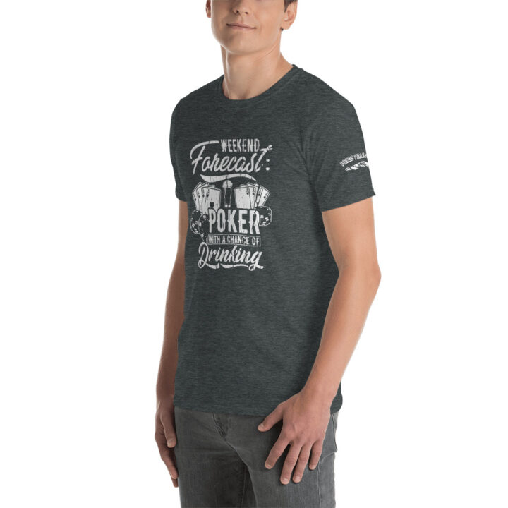 Private: Pikes Peak Poker – Weekend Forecast –  Men's T-shirt