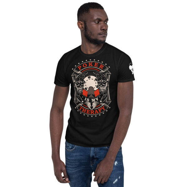Private: Koala T. Poker – Poker Is My Therapy –  Men's T-shirt