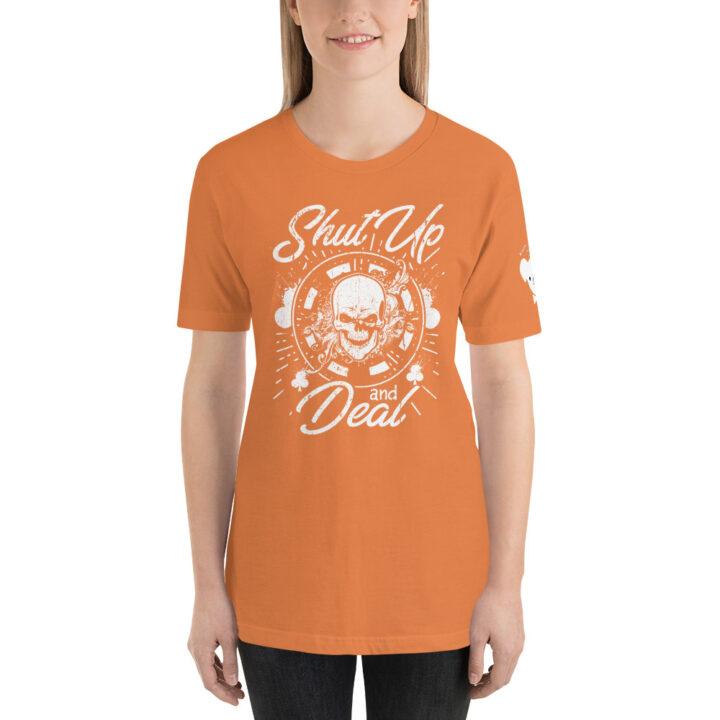 Private: Koala T. Poker – Shut Up And Deal – Women's T-shirt