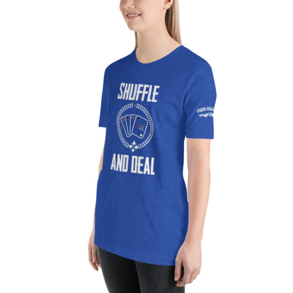 Private: Pikes Peak Poker – Shuffle & Deal – Women's T-shirt