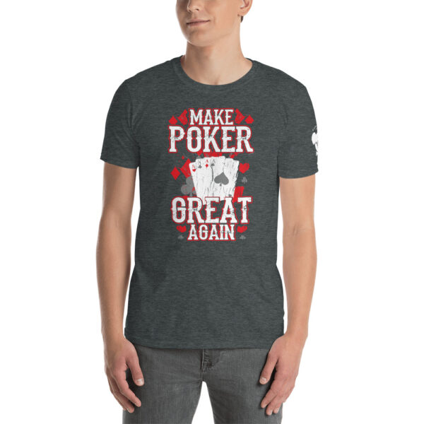 Private: Koala T. Poker – I'd Rather Be Playing Poker –  Men's T-shirt