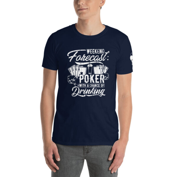 Private: Koala T. Poker – Weekend Forecast Poker With A Chance Of Drinking –  Men's T-shirt