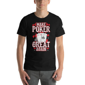 Private: Koala T. Poker – Make Poker Great Again – Men's T-shirt