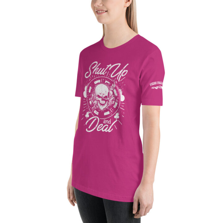 Private: Pikes Peak Poker – Shut Up And Deal – Women's T-shirt