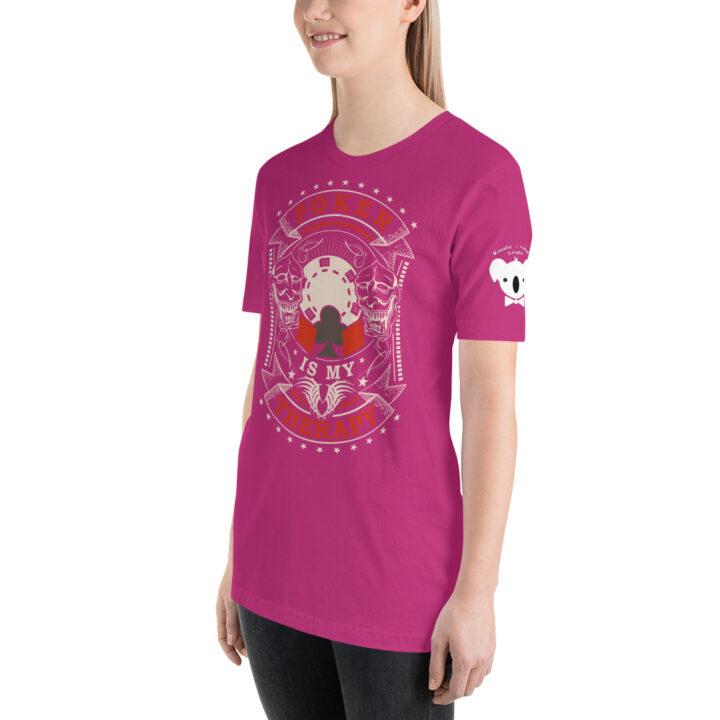 Private: Koala T. Poker – Poker Is My Therapy – Women's T-shirt