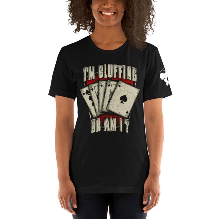 Private: Koala T. Poker – I'm Bluffing Or Am I? –  Women's T-shirt