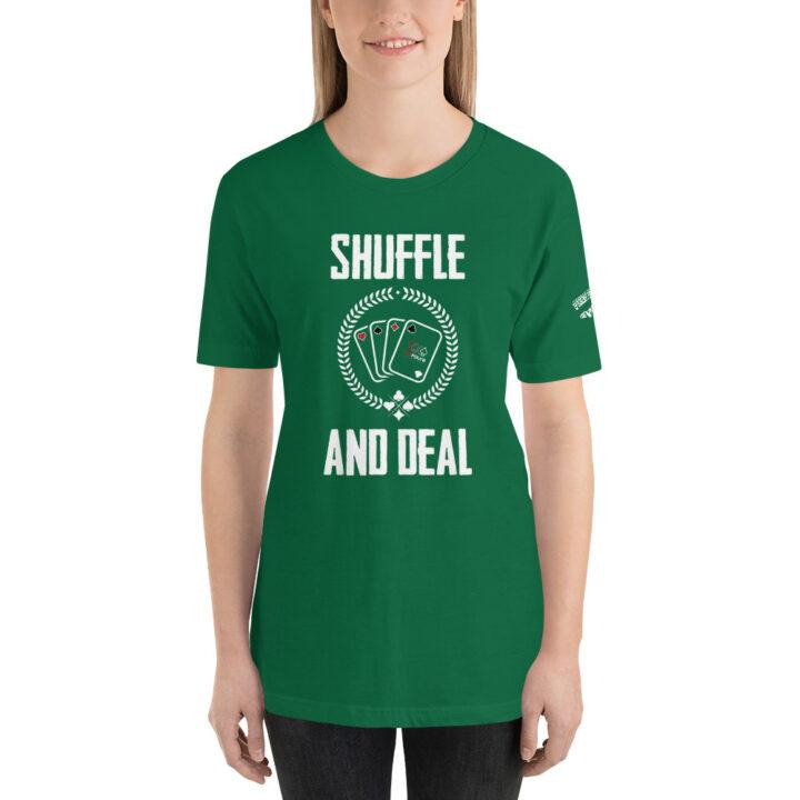 Private: Pikes Peak Poker – Shuffle & Deal – Women's T-shirt