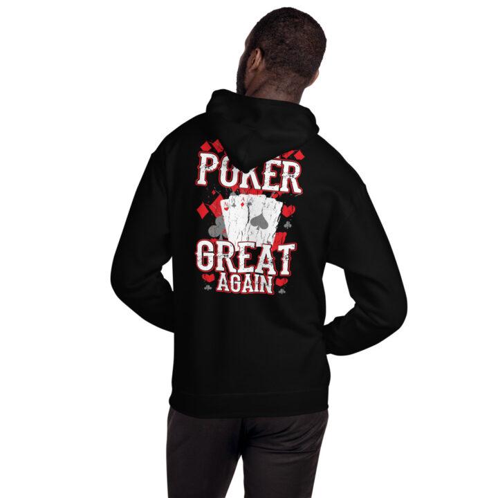 Private: Pikes Peak Poke – Make Poker Great Again – Unisex Hoodie