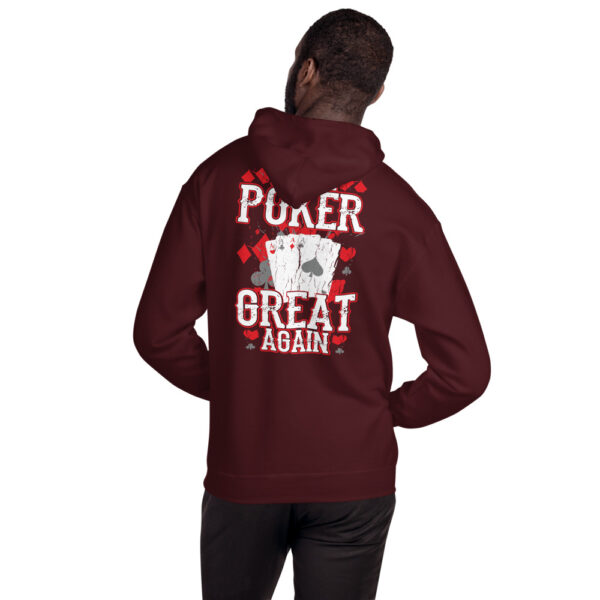 Private: Pikes Peak Poke – Make Poker Great Again – Unisex Hoodie