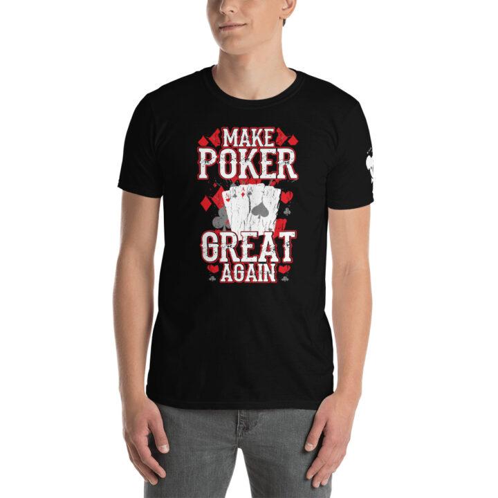 Private: Koala T. Poker – I'd Rather Be Playing Poker –  Men's T-shirt