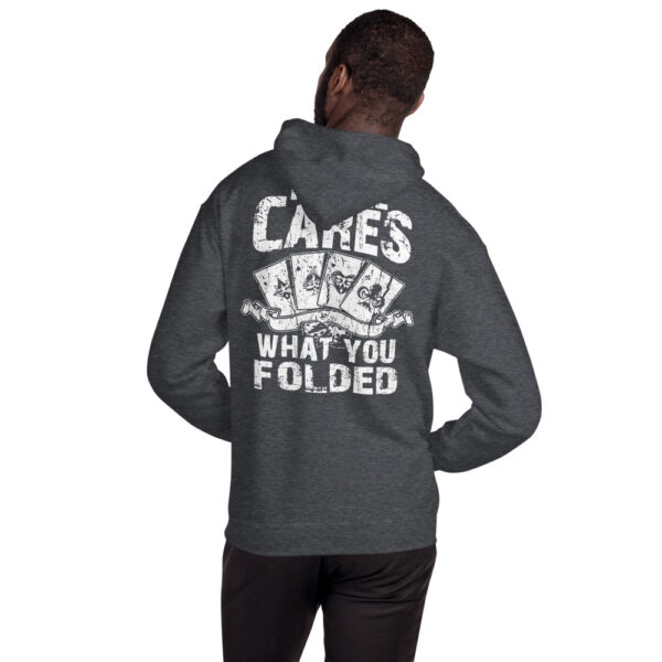 Private: Pikes Peak Poker – No One Cares What You Folded –  Unisex Hoodie