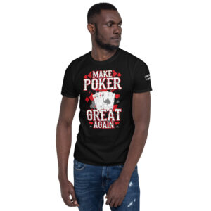 Private: Pikes Peak Poke – I'd Rather Be Playing Poker –  Men's T-shirt