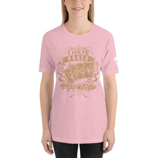 Private: Koala T. Poker – I Hate Poker Fake News –  Women's T-shirt